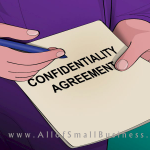 Confidentiality Agreement for Your Small Business