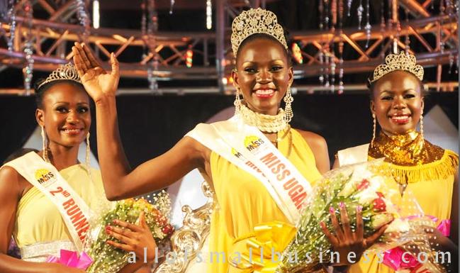 Small Business Entrepreneur Leah Kalanguka Poultry Farmer Crowned Miss Uganda